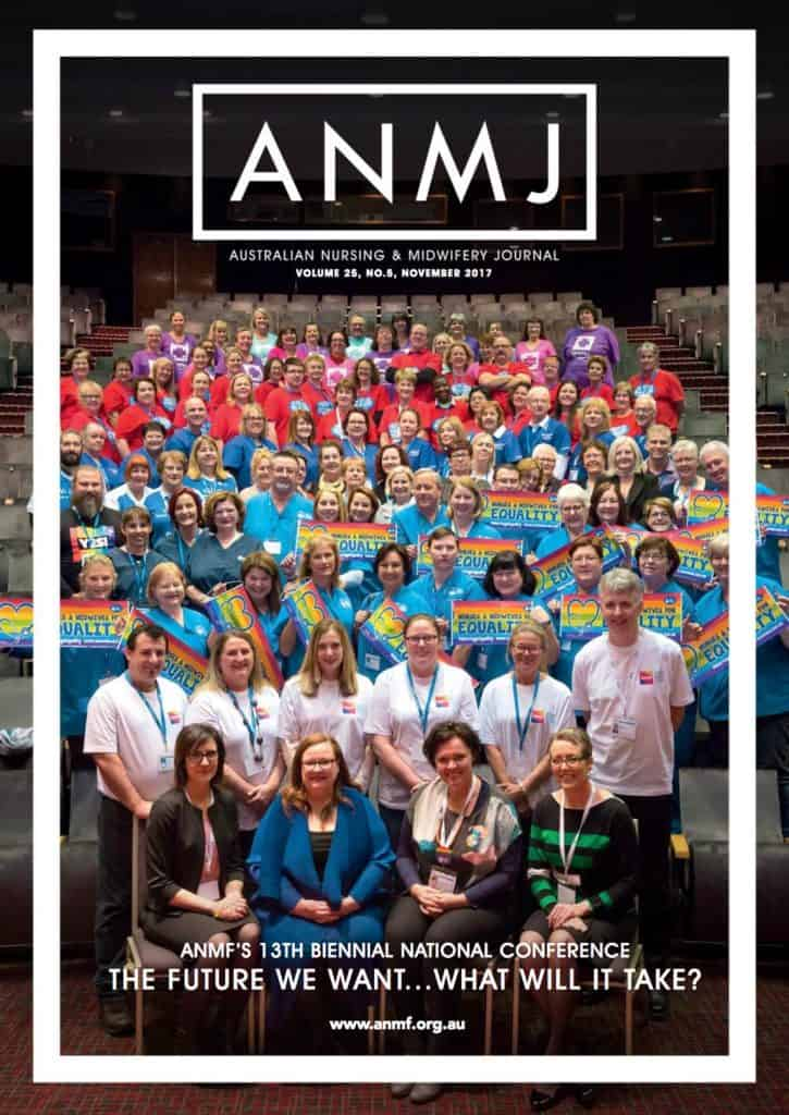 ANMJ November 2017 Issue