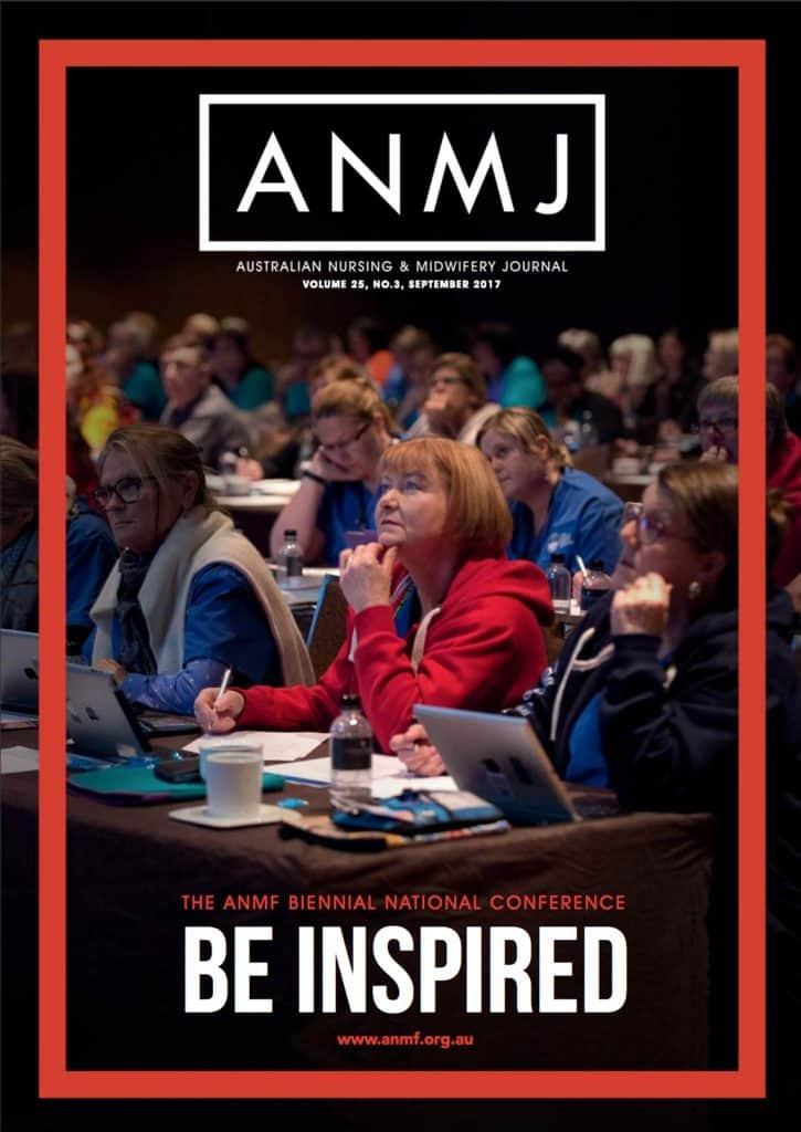 September 2017 ANMJ Issue