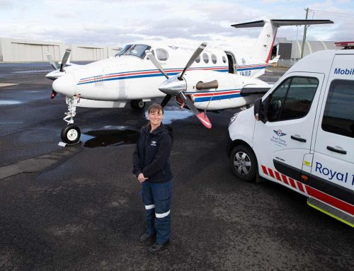 Up in the air with an RFDS flight nurse
