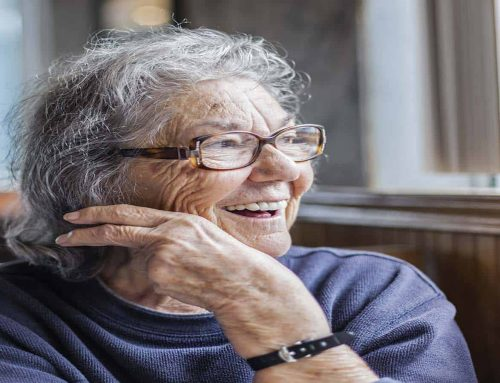What psychological variables support effective care for dementia patients?
