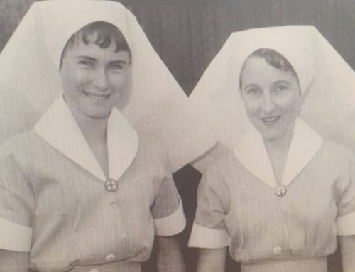 Nurse still  in the profession after 65 years