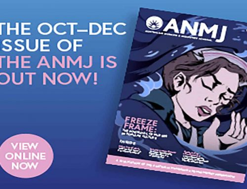 The latest issue of the ANMJ is out now