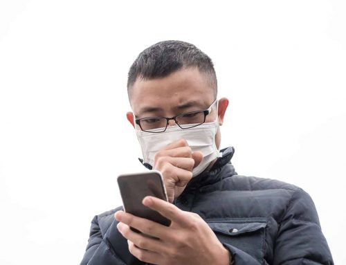 Smartphone to diagnose respiratory disease