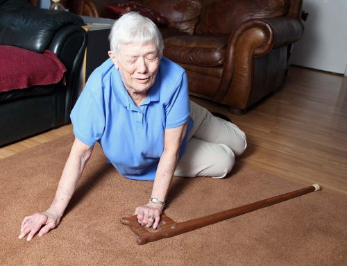 Older people have more head injuries from falls