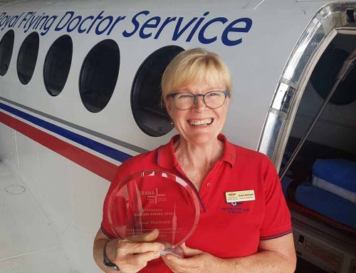My journey to becoming an RFDS flight nurse