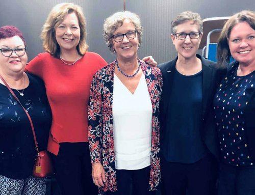 ACTU Executive helps drive bushfire relief