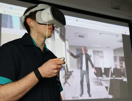 Behind Angry Stan, the virtual reality simulator training nursing students to deal with conflict