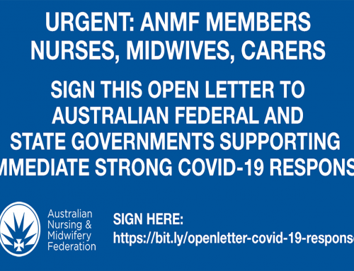 Nurses and midwives sign this open letter to the government now!