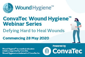 ConvaTec Wound Hygiene™ webinar series – Defying Hard to Heal Wounds