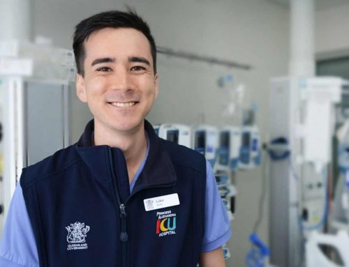 Q&A with ICU nurse Luke Yokota