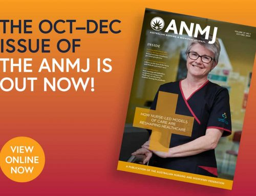 Wait no longer: The latest issue of the ANMJ is out now