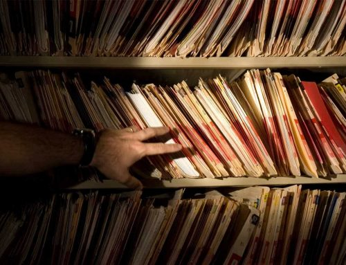 Then and Now: The shift from paper to digital record keeping