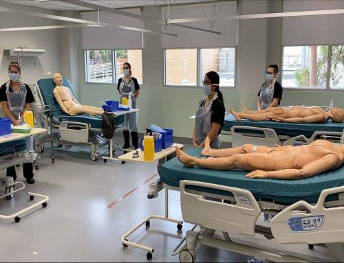 Socially distanced nursing and midwifery simulation during the COVID-19 pandemic