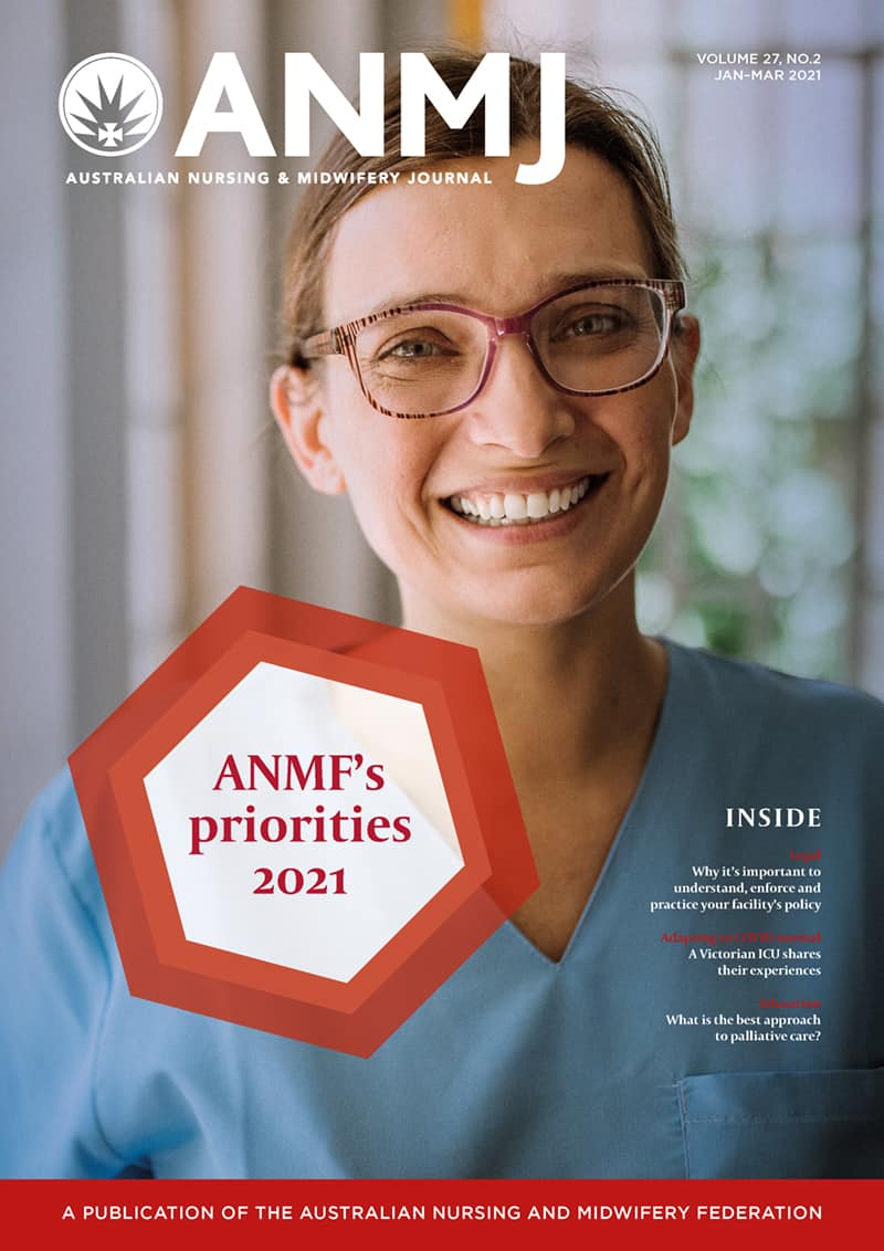 ANMJ Jan-Mar 2021 Issue