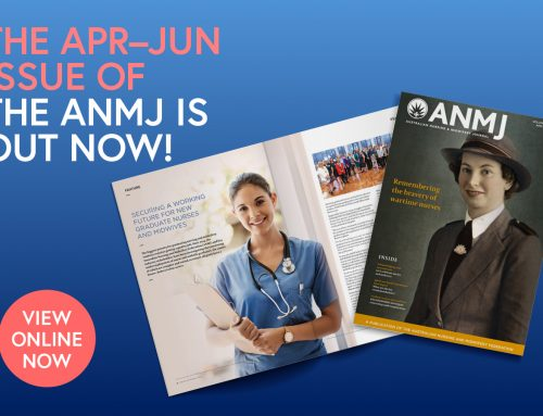 Find out the latest in April-June ANMJ