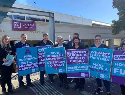 ANMF calls for urgent political action in wake of Tasmanian hospital's workforce crisis