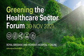 Greening the Healthcare Sector Forum